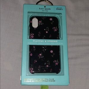 🌺🌸KATE SPADE ♠️ Floral iPhone X Case🌸🌺